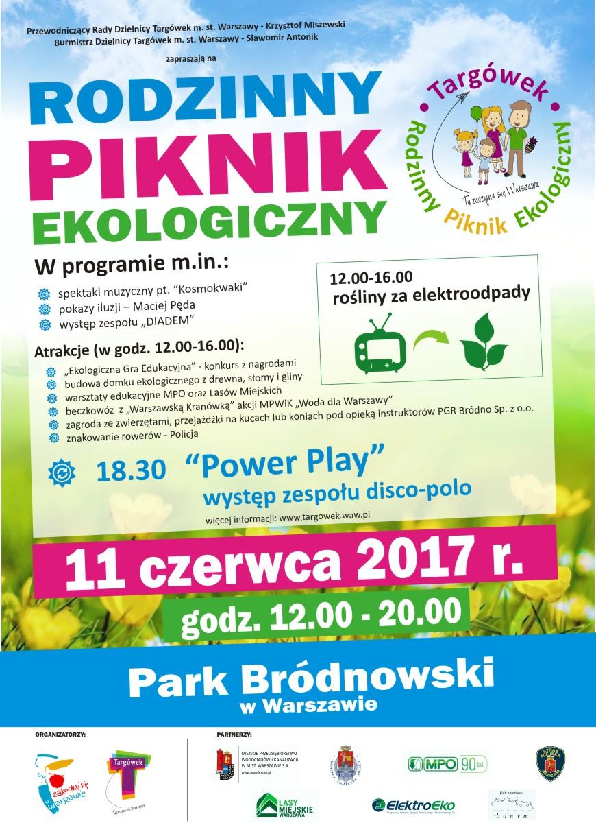 eko piknik 2017 plakat wiosna